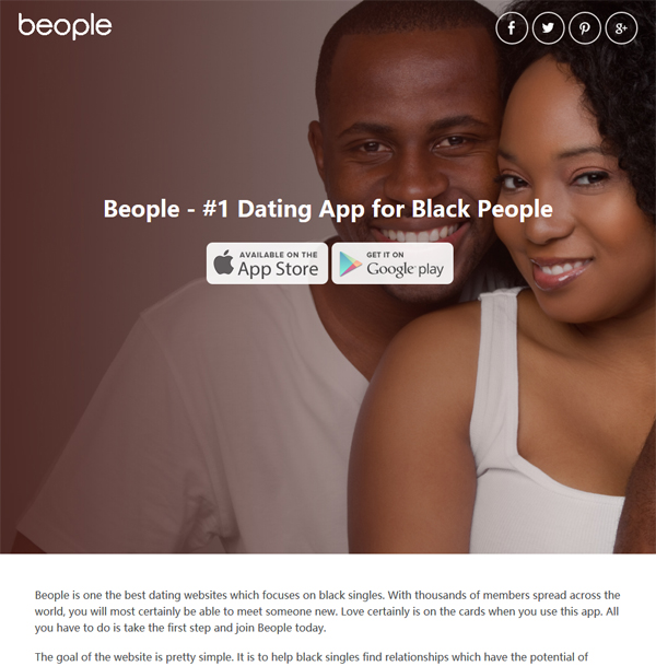 Black singles websites
